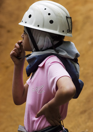 Hijab and Hard hat